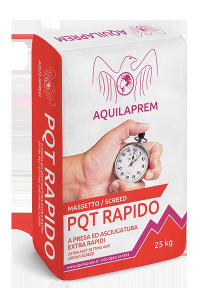 PQT RAPIDO Massetto – A presa ed indurimento extra-rapidi